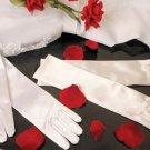 Child's Satin Elbow Length Gloves ~ GL Child SE