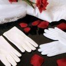 Child's Matte Satin Wrist Length Gloves ~ GL Child MW