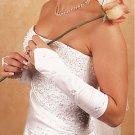 Floral Fingerless Bridal Gloves GL215-8E