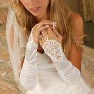 Elegant Fingerless Bridal Glove GL9053-8E