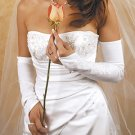 Formal or Bridal Gloves Style GL2225-16S