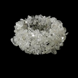 Glazed Crystal Cuff Beach Bracelet B 8248