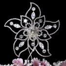 Crystal Flower Cake Top CJ 1020
