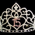 Sweet 15 Tiara HP-253