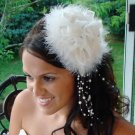 """""""Sex in the City"""" Style Feather Hat HP 7798"""