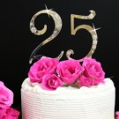 Large Number Birthday Anniversary Wedding Cake Topper Set