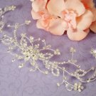 Elegant Crystal Floral Vine Cake Jewelry Accent CJ2