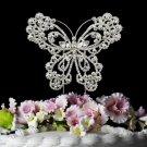 Crystal Butterfly Cake Top CJ 1023