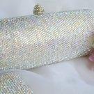 Bridal Evening Bag w/ Swarovski Crystals EB 0128 AB