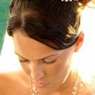 Matching Pearl Illusion Bridal Jewelry & Headpiece NE 3976 & Coordinating Tiara HP 727