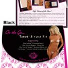 Shibue on the go, strapless panty, cover ups, silicone cover ups, repair adhesives black m/l