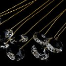 Elegant Gold Crystal Bouquet Jewels BQ 101 (Set of 10)