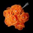 Orange Flower Bunch BQ 7016
