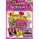 Bachelorette wall decoration kit