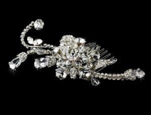 Swarovski Crystal Bridal Comb 8116