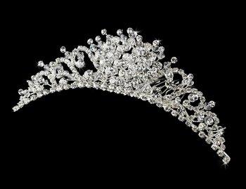 Swarovski Crystal Bridal Headpiece Comb 7055