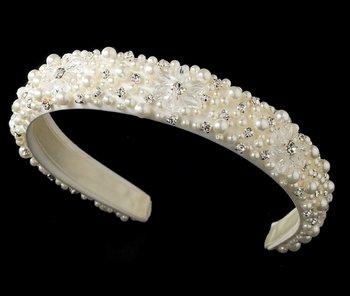 Ivory Bridal Headband HP 8268
