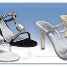 Majesty Elegant Rhinestone Evening Shoe