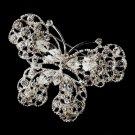 Silver Butterfly Brooch 157