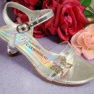 Butterfly Shoe Silver