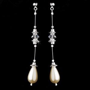 Earring 8357 Ivory
