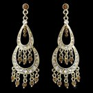 Earring 804 Gold Brown