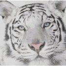 White Tiger Cross Stitch E-Pattern