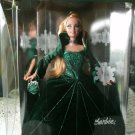 Barbie Special Holiday Year 2000 Edition Doll in Green Velvet Dress and Blonde Hair