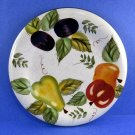 Oneida Vintage Fruit Design Salad Plate 8 Inches