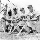 DODGERS- DUKE SNIDER-ROBINSON-REESE-CAMPY-GIL HODGES