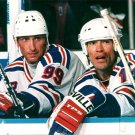 NEW YORK RANGERS - MARK MESSIER & WAYNE GRETZKY