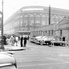 BROOKLYN DODGERS- EBBETS FIELD - 1955 STREET VIEW