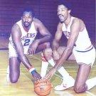 PHILADELPHIA 76ers- JULIUS ERVING & MOSES MALONE
