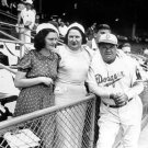 BROOKLYN DODGERS- BABE RUTH - EBBETS FIELD