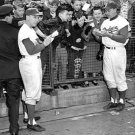 BROOKLYN DODGERS- PEE WEE REESE & GIL HODGES SIGN