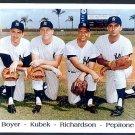 NEW YORK YANKEES-1963 INFIELD- CLETE BOYER, KUBEK, PEPI