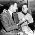 NEW YORK GIANTS- RALPH BRANCA GREETS BOBBY THOMSON