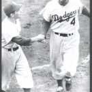 BROOKLYN DODGERS- DUKE SNIDER & BATBOY