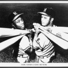 MILWAUKEE BRAVES- HANK AARON & EDDIE MATTHEWS