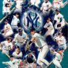 NEW YORK YANKEES 1999 WORLD CHAMPIONS COLLAGE