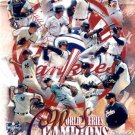 NEW YORK YANKEES 2000 WORLD CHAMPIONS COLLAGE