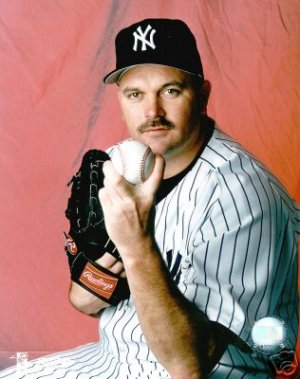 NEW YORK YANKEES- DAVID WELLS STUDIO PHOTOGRAPH