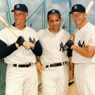 NEW YORK YANKEES- MICKEY MANTLE, ROGER MARIS,YOGI BERRA