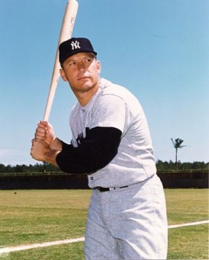 NEW YORK YANKEES- MICKEY MANTLE - COLOR #1