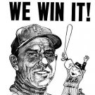 NEW YORK METS- WE WIN IT! - GIL HODGES - SHEA STADIUM