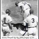 NEW YORK METS-  JIMMY PIERSALL - 100th HOME RUN