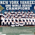 NEW YORK YANKEES 1996 WORLD CHAMPIONS 11 x 14 SIZE