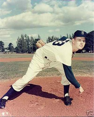 BROOKLYN DODGERS- DON DRYSDALE ROOKIE - VERO BEACH