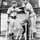 NEW YORK GIANTS- MELL OTT & JOHNNY MIZE