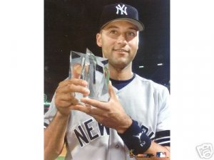 NEW YORK YANKEES- DEREK JETER 2000 ALL STAR GAME TROPHY